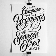 Calligraphy quote