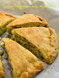 Pita Recipes, Greek Recipes, Easy Healthy Recipes, Dessert Recipes, Cooking Recipes, Desserts, Low Carb Potatoes, Cypriot Food, Veggie Snacks