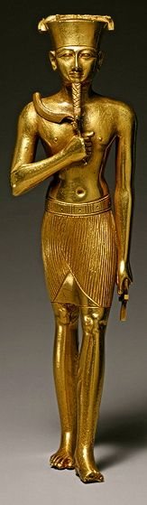 Statuette of Amun, Third Intermediate Period, Dynasty 22, ca. 945–715 b.c.  Egyptian