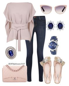 """""""Rose & Navy"""" by k1974johnson1117 ❤ liked on Polyvore"""