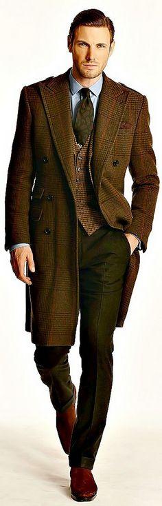 Ralph Lauren ~ menswear, men's fashion and style Sharp Dressed Man, Well Dressed Men, Gq, Fashion Moda, Mens Fashion, Cooler Style, La Mode Masculine, Herren Outfit, Gentleman Style