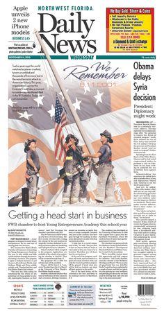 Northwest Florida Daily News, published in Fort Walton Beach, Florida USA