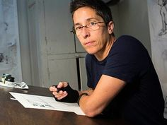 Cartoonist and Graphic Memoirist Alison Bechdel is expanding the expressive potential of the graphic form in intricate narratives that explore the complexiti. Alison Bechdel, Are You My Mother, Tom Boy, Weak In The Knees, Career Counseling, School Psychology, Butches, Secondary School, Graphic Novels