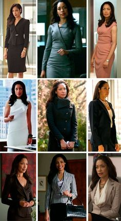 Ideas for womens dress suits gina torres Barbie Wardrobe, Work Wardrobe, Curvy Outfits, Mode Outfits, Rachel Zane Outfits, Suit Fashion, Fashion Outfits, Jessica Pearson, Gina Torres