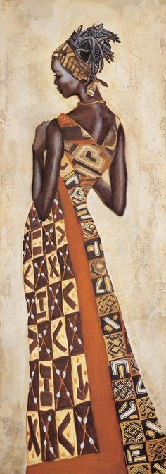 Femme Africaine II Leconte Jacques African Art Gallery