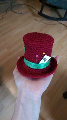Crochet mad hatter hat