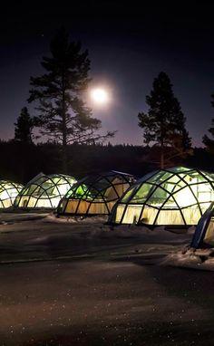 Kakslauttanen Arctic Resort, Finland