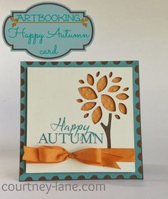 Card made with CTMH Artbooking Cricut cartridge.