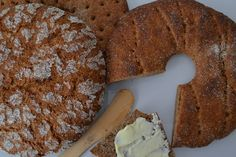 Ruislimppu ja ruisleipä | Ossin Pulla Oy Bread, Cookies, Finland, Desserts, Food, Crack Crackers, Tailgate Desserts, Deserts, Eten