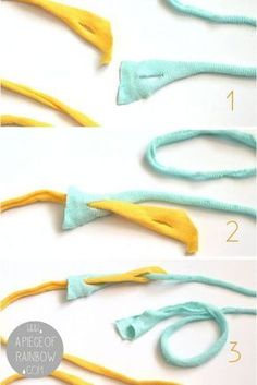 How to Make Beautiful Rag Rug {& DIY T-shirt Yarns!} - A Piece Of Rainbow - - Detailed tutorial on how to make beautiful rag rug with easy DIY t-shirt yarn, & how to weave bohemian rag rugs on a cardboard loom or hula hoop loom! Yarn Crafts, Fabric Crafts, Sewing Crafts, Wood Crafts, Sewing Art, Recycled Crafts, Recycled T Shirts, Vinyl Crafts, Felt Crafts