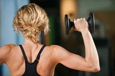Best exercises for toned arms. No gym needed!