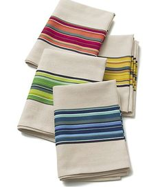Dinner party kitchen towels
