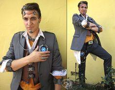 Handsome Jack cosplay Borderlands 2