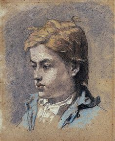 Édouard Manet - Portrait of a Young Man pastel on paper Peter Paul Rubens, Renoir, Monet, Edouard Manet Paintings, French Impressionist Painters, Impressionism Art, French Artists, Vincent Van Gogh, Figure Painting