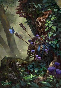 Fantasy Kunst, Dark Fantasy Art, Fantasy Artwork, Fantasy World, Art And Illustration, Art Illustrations, Mandala Art, Rpg Map, Arte Obscura
