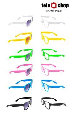 http://tele-shop.pl/ OKULARY ZERÓWKI I PRZECIWSŁONECZNE WAYFARE. Nowe składane okulary przeciwsłoneczne lub zerówki z pokrowcem w komplecie - idealne na lato.