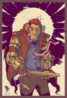 """Mechanical Animals"" - part of ""Fuck Me Gently"" by Grzesiek Wróblewski, via…"