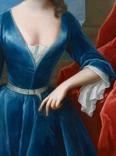 Portrait of Sarah Churchill, Duchess of Marlborough (detail), by Maria Verelst (1680-1744)