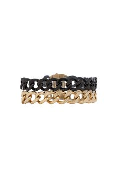 Michael Kors Chain Wrap Bracelet in Two Tone | REVOLVE