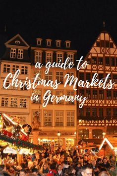 Thinking of visiting Germany during the holidays? Here's a complete guide to experiencing Christmas Markets in Germany from where to go, what to do, and what to eat & drink while you're at them. Travel in Europe. Christmas Markets Germany, German Christmas Markets, Christmas Markets Europe, Christmas Travel, Holiday Travel, Stuttgart Christmas Market, Visit Germany, Germany Travel, Germany Europe