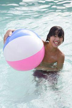 beach ball pool games   Winter Pool Party Ideas