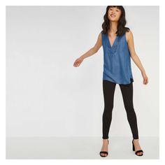 0edc8780c154c Joe Fresh Tencel® Sleeveless Blouse - Blue S