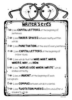 In how many places and in how many ways can I think of to put this around my classroom?!?  Seriously, everybody, elementary students NEED to be frequently reminded to check and double-check their writing!!!