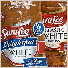 Save .45 on one loaf of Sara Lee Delightful bread!