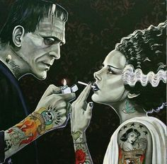 Herman and Lily Munster