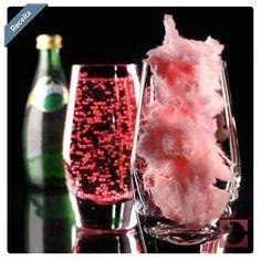 Soda Rosa: receita com gostinho de festa! Inove nas bebidas mergulhando lentamente algodão doce (da cor rosa) em refrigerante sabor limão. #receita #inspiração #DicaCassol