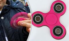 Smart Heads: Fidget spinners activities at the lesson.The gadget that is n...