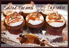 Salted Caramel MILKY WAY Cupcake