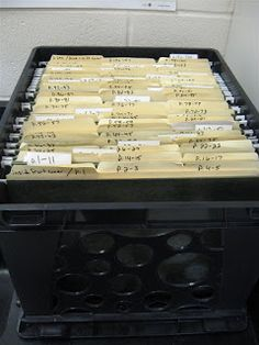 Interactive Notebook inserts, week by week, organize in folders and crate: {Teaching} ∩ {Physical Science}: ISN Logistics
