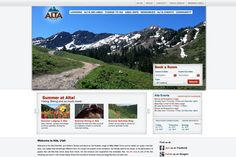 Internet presence for Alta Chamber and Visitor's Bureau in Alta, Utah. -- Website by Blue Tent Marketing; View more Nonprofit websites in our portfolio: http://www.bluetentmarketing.com/portfolio/nonprofit