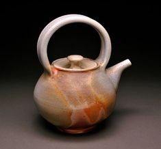 Wood Fired Teapot with Flashing by MBrownCeramics on DeviantArt