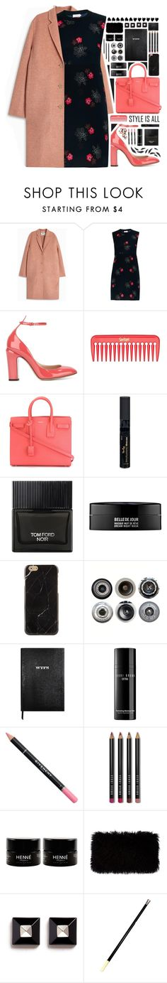 """""""""""Rock the Vote in Style"""" - Contest"""" by arierrefatir ❤ liked on Polyvore featuring Acne Studios, A.L.C., Valentino, Yves Saint Laurent, Reviva Labs, Tom Ford, Kenzoki, Ella Doran, Sloane Stationery and Bobbi Brown Cosmetics"""