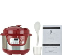 2 QT Cook's Essentials Pressure Cooker from QVC,