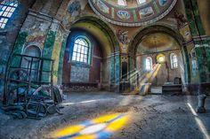 PHOTOS. Découvrez ces lieux abandonnés photographiés par une artiste polonaise