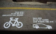 Bike and fat-vs-money via maurelita.com