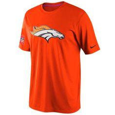 Mens Denver Broncos Breast Cancer Awareness Performance T-Shirt