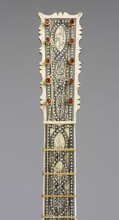 Guitar, ca. 1630–50 - Attributed to Matteo Sellas - Italian, ca. 1612–1652) - Venice - Wood, bone, various materials