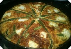This frittata is delicious and filled with the goodness of fresh herbs ...
