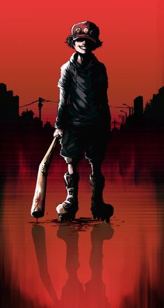 Paranoia Agent, a masterpiece by Satoshi Kon Cartoon As Anime, Cartoon Art, Anime Manga, Anime Art, Anime Stuff, Rollers, Ghibli, Beelzebub Anime, Satoshi Kon