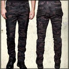 "LIP SERVICE Dead-Nation ""Mercenary"" pants #M28-134"