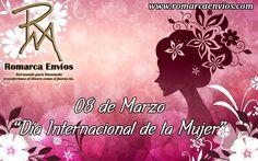 #RomarcaEnvios les desea un feliz día a todas las mujeres.  #TransferenciaDeDinero #FelizDia #DiaDeLaMujer #Mujeres