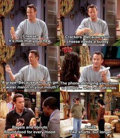 Chandler Bing, everybody!
