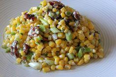 Bacon, Blue Cheese, Green Onion, and Corn Salad | Yummly