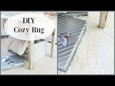 Happy At Home: DIY Cozy Area Rug
