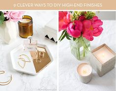 9 Inexpensive Ways to DIY High-End Materials