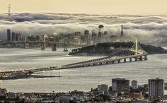 Fog Tsunami Strikes San Francisco by Alex  Burke on 500px